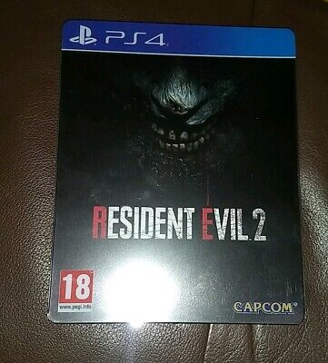 Resident Evil 2 Remake Steelbook Edition PS4 - NO DLC - Excellent condition