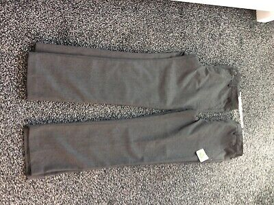 NWT Boys Grey  School Trousers two pairs Age 15 Years By Debenhams