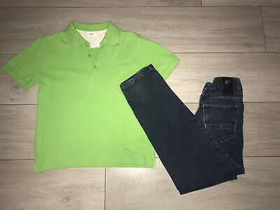 Boys Hugo Boss Outfit Jeans And Polo Aged 10