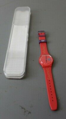 Red Swatch Paralympic Games Watch ##ALL5MC