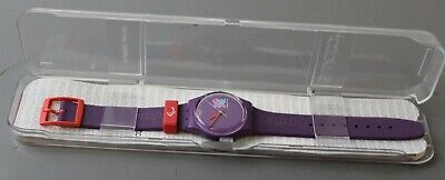 Purple Swatch Paralympic Games Watch ##ALL5MC