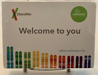 23andMe Genetic Ancestry Test Saliva Collection Kit Sealed New Exp2021