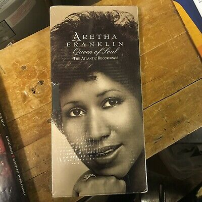 Aretha Franklin - Queen of Soul: The Atlantic Recordings 4xCD SEALED RHINO