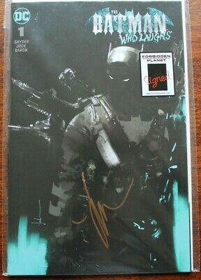 Batman Who Laughs #1 Grim Knight Variant Cover - Signed By Jock