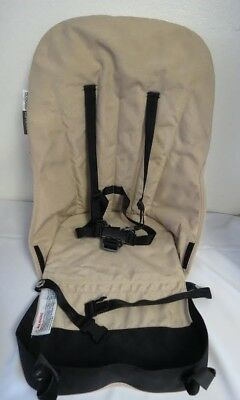 Bugaboo Cameleon Frog Baby Child Stroller Seat Unit Canvas Fabric Sand Beige