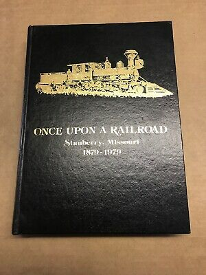 Stanberry Missouri Centennial Book 1879-1979 Once Upon A Railroad Genealogy MO