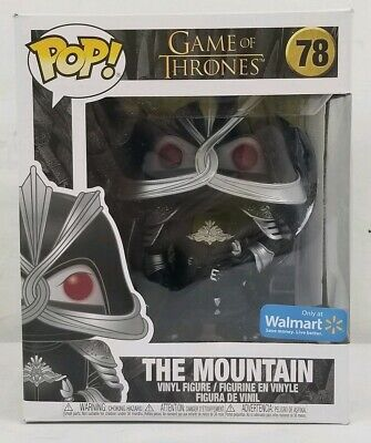 Funko Pop Walmart Exclusive The Mountain #78 Game Of Thrones 6 Inch Figure