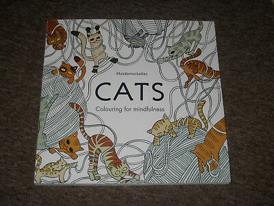 NEW Unused Cats (Colouring for Mindfulness) by Hamlyn (Large)