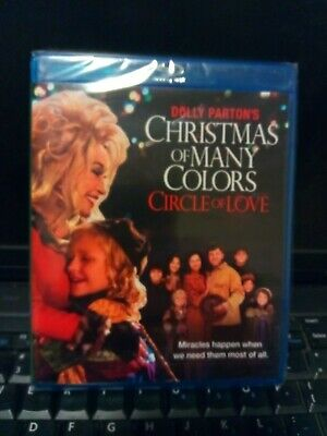 Dolly Parton's Christmas Of Many Colors Circle Of Love Blu-ray New!!