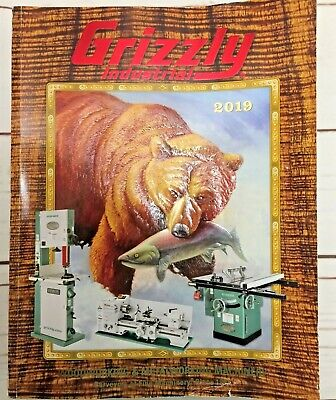 Grizzly Catalog 2019 Industrial Tools Prices Woodworking Metalworking Machinery