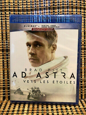 Ad Astra (Blu-ray, 2019)Brad Pitt/Tommy Lee Jones/Space Thriller.James Grey