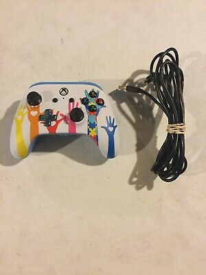 Microsoft Xbox One PowerA Enhanced Wired Controller Autism Awareness Edition