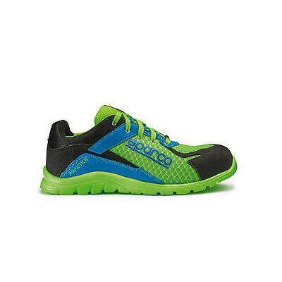 Sparco Practice Shoes blue-green - Genuine - 42 (8 UK) (8,5 US)