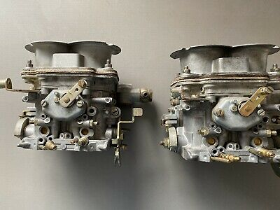 Weber Dcnf 40 Carburators Pair NOS