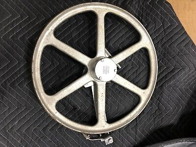 """Biro 3334FH Upper 16"""" Wheel Complete With Hinge Plate Assembly"""