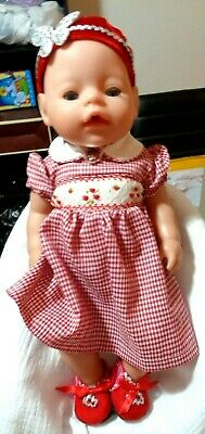 Pretty Girl Baby Born Doll By Zapf Creations