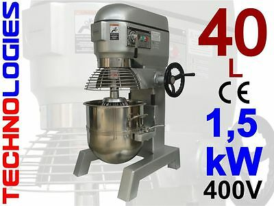 PLANETARY dough MIXER 40 LITERS 18 kg dough / 400V - HOBART design NEW IN STOCK!