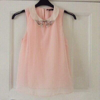 New Look Girls Embellished Top Age 14 Yrs