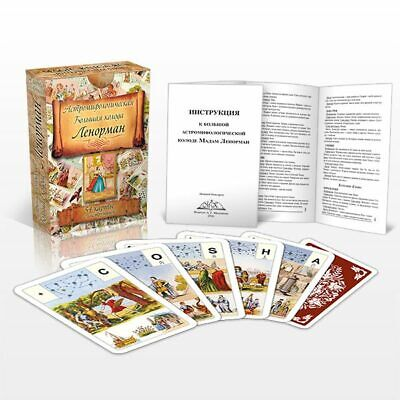Astro Mythological Lenormand 54 Cards Russian Manual ⚜ Grand Jeu Lenormand