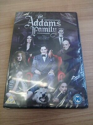 The Addams Family (1991) new and sealed DVD Raul Julia, Anjelica Huston
