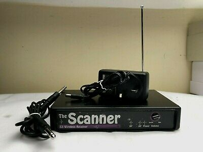 The Scanner S3 Wireless Receiver With Ac Power Adapter
