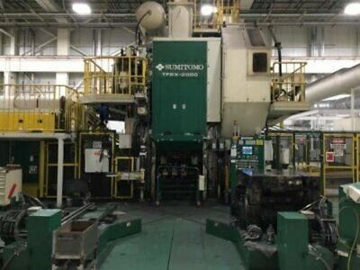 Sumitomo Tfpx-2000 Mechanical Forging Press Line 2000 Ton 06190690001