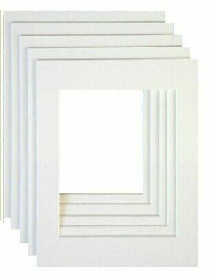 "8x6"" for 6x4"" PICTURE/PHOTO FRAME MOUNTS - VARIOUS COLOURS - GREAT QUALITY**"