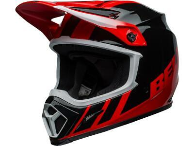 Casque motocross BELL MX-9 Mips Dash Noir / Rouge 2020