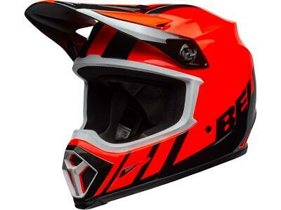 Casque motocross BELL MX-9 Mips Dash Noir / Orange 2020