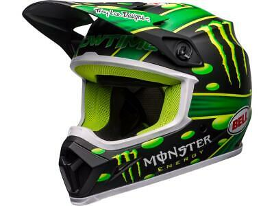 Casque motocross BELL MX-9 Mips Showtime mate Noir / Vert 2020