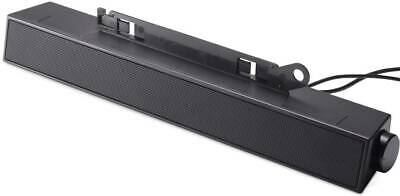 Dell AS501 / AX510 Silver Stereo Soundbar Speaker (powered from Dell Monitors)