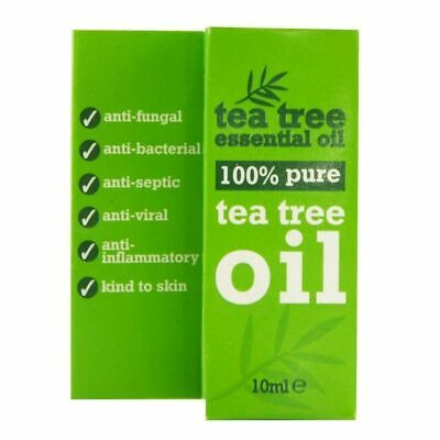 10ml 100% Pure Tea Tree Essential Oil, Anti-Septic & Anti-Fungal