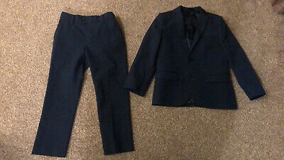 Boys Next Navy Suit Age 5 (weddings, Going Out, Smart)