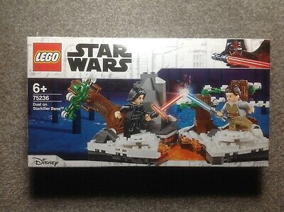 Lego Star Wars Duel on Starkiller Base 75236 Complete With Minifigures