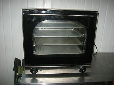 Commercial Electric Convection Oven with 4 trays 315x430mm   QUATTRO