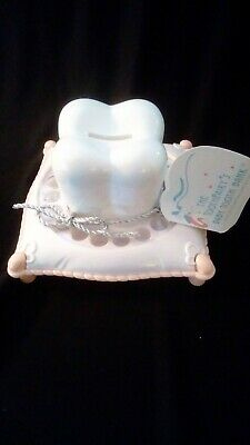 Baby Tooth Fairy Bank Boxed, Girl Pink