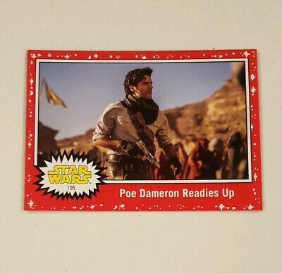 Star Wars Card Trader Journey Rise Of Skywalker Red 65CC Poe Dameron Readies Up