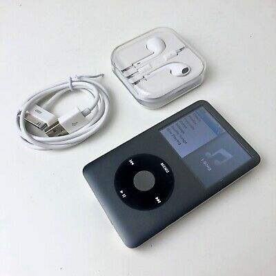 Apple iPod Classic 7th Generation Black (160GB) - Good Condition