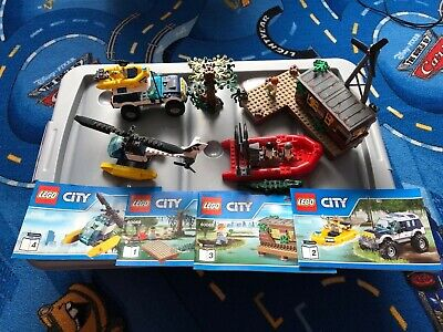 LEGO City Police 60068 Crooks' Hideout 100% complete with manuals