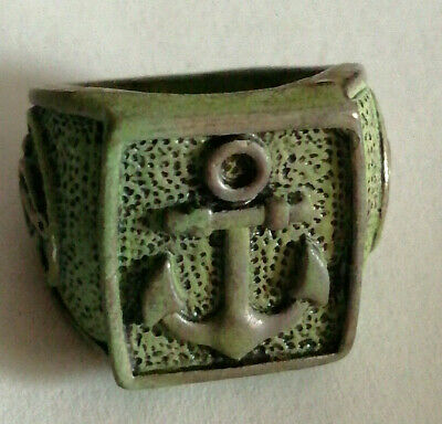 Extremely Ancient Ring Metal Color Silver Ring Amazing