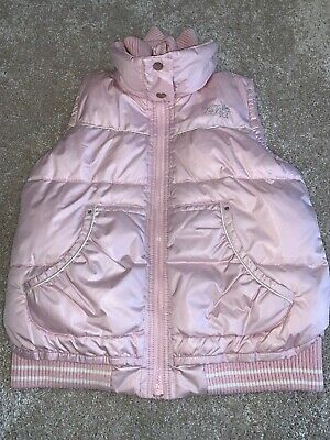 Next Girls Padded Gilet, Pink, Age 11-12 Yrs, Used