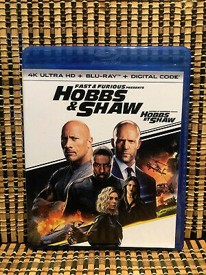 Fast & Furious: Hobbs & Shaw (1-Disc Blu-ray, 2019)Dwayne Johnson/Statham