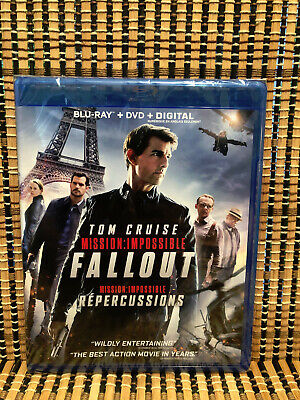 Mission: Impossible 6 - Fallout (2-Disc Blu-ray/DVD, 2018)Tom Cruise/Henry Cavil