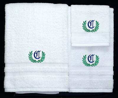 Kermit The Frog Embroidered Logo Personalized Bath Towel 3Piece Set New Handmade