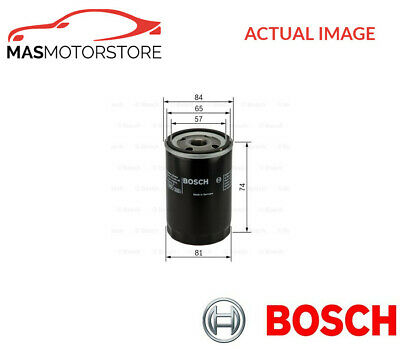 Engine Oil Filter Bosch 0 986 452 016 P New Oe Replacement