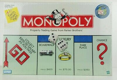 Genuine Hasbro Monopoly Property Trading Board Game From Parker Brothers
