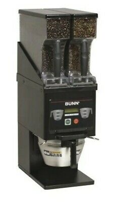 NEW Bunn Dual MHG Coffee Grinder Use With Smart Funnel commercial coffee brewing
