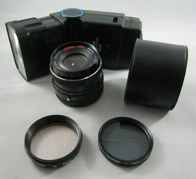 28mm Macro Wide Angle Lens By ALBINAR ADG , 2X Auto Converter, Filters & Flash