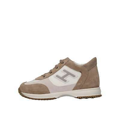 Hogan Junior Bambino HXT0920I4608GM612F Beige/bianco Sneakers Primavera/Estate
