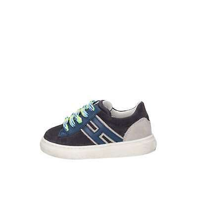 Hogan Junior Bambino HXT3400K390HB90QBV Blu Sneakers Primavera/Estate